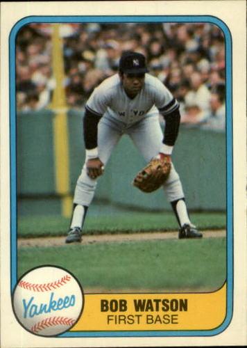 Photo of 1981 Fleer #93 Bob Watson