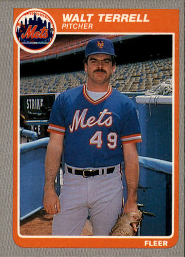 Photo of 1985 Fleer #94 Walt Terrell