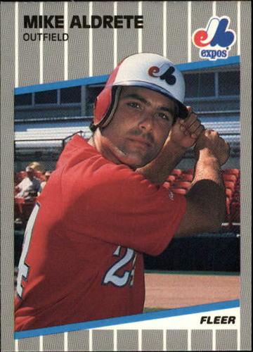 Photo of 1989 Fleer Update #95 Mike Aldrete