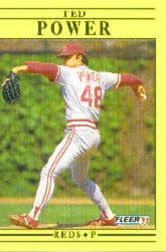 Photo of 1991 Fleer Update #85 Ted Power