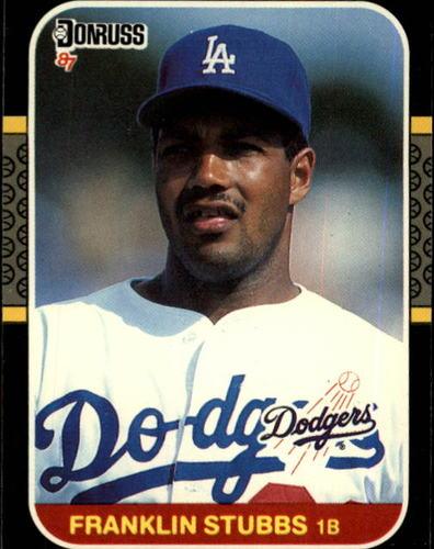 Photo of 1987 Donruss #299 Franklin Stubbs