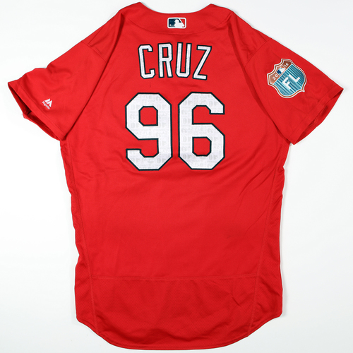 Photo of 2016 Spring Training - Spring Training Game Used Jersey - Luis Cruz (Cardinals)- Size- 46