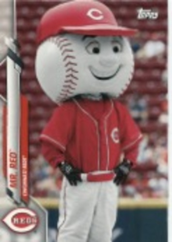 Photo of 2020 Topps Opening Day Mascots #M20 Mr. Red