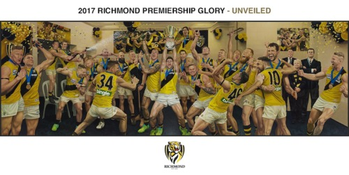 Photo of 2017 Jaimie Cooper Lithograph - Premiership Glory- Edition #195