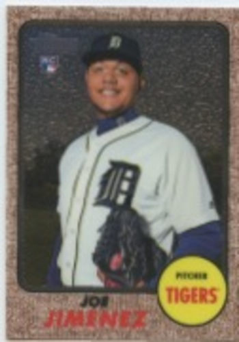 Photo of 2017 Topps Heritage Chrome #THC567 Joe Jimenez