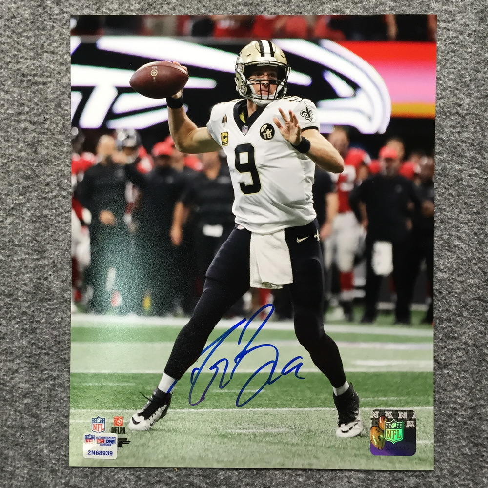 PCC - Signed Drew Brees photo