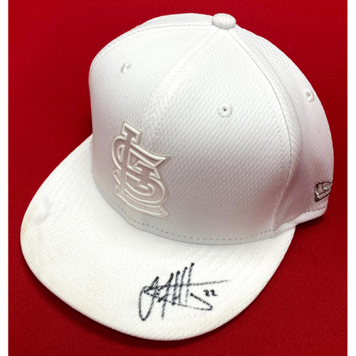 Photo of Jack Flaherty Autographed Team-Issued Player's Weekend Cap (Size 7 1/4)
