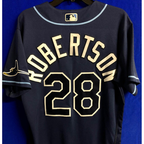Photo of Team Issued Navy Jersey: Daniel Robertson