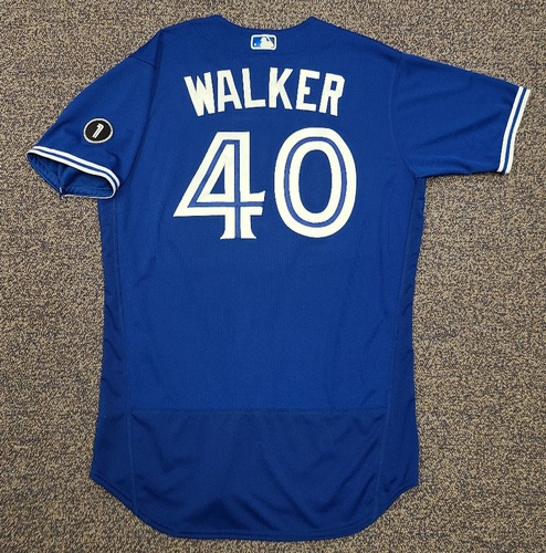 Photo of Authenticated Team Issued Jersey: #40 Pete Walker (2020 Season). Set 1. Size 46.