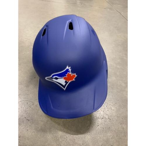 Photo of 2021 MLB Draft Used Helmet: Toronto Blue Jays