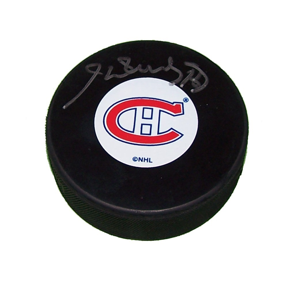 Henri Richard Autographed Montreal Canadiens Puck
