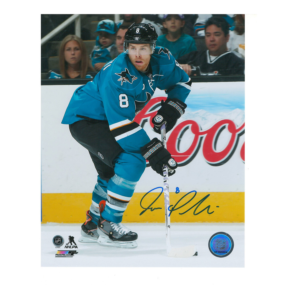 JOE PAVELSKI Signed San Jose Sharks 8 X 10 Photo - 70184