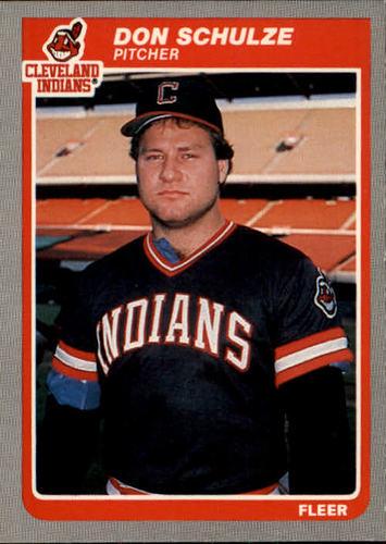 Photo of 1985 Fleer #454 Don Schulze