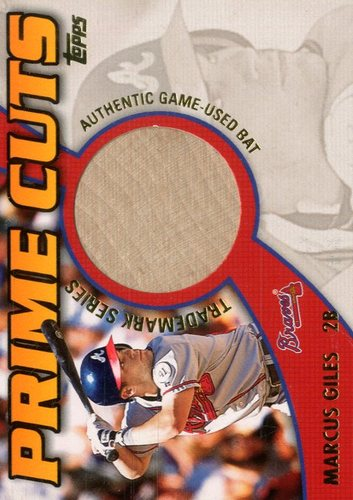 Photo of 2002 Topps Prime Cuts Trademark Relics #PCTMG Marcus Giles 2