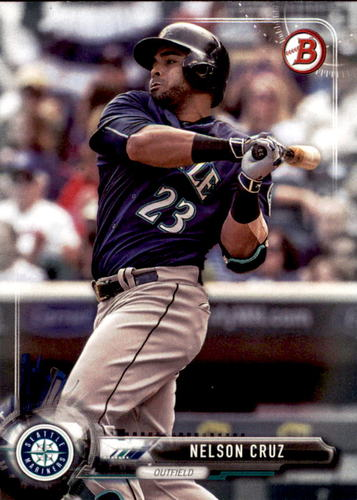 Photo of 2017 Bowman #59 Nelson Cruz