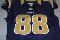 NFL INTERNATIONAL SERIES - RAMS LANCE KENDRICKS GAME WORN RAMS JERSEY (OCTOBER 23, 2016)