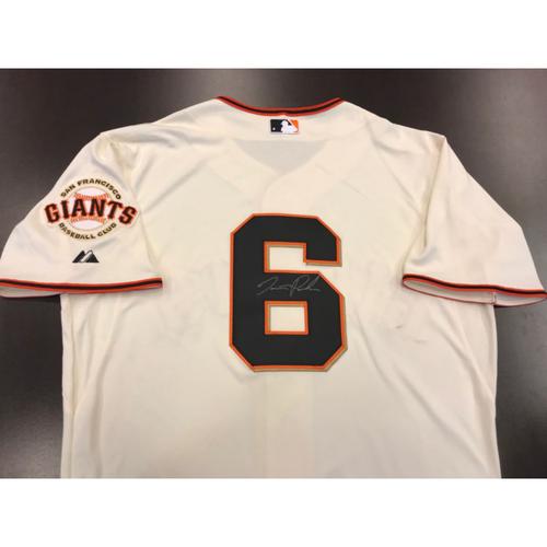 Giants Community Fund: Giants Jersey Autographed by Jarrett Parker