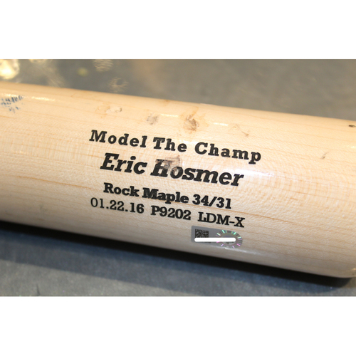 Photo of Team-Issued Bat: Eric Hosmer