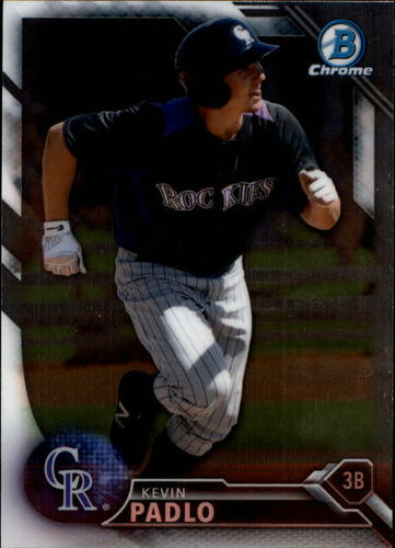 Photo of 2016 Bowman Chrome Prospects #BCP23 Kevin Padlo