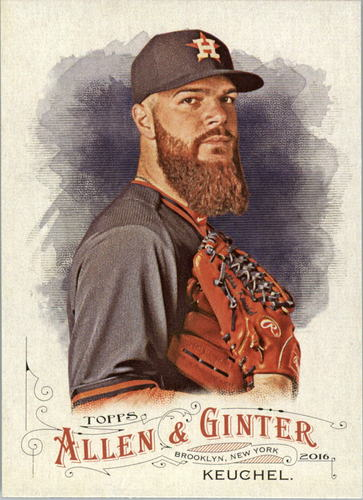 Photo of 2016 Topps Allen and Ginter #89 Dallas Keuchel