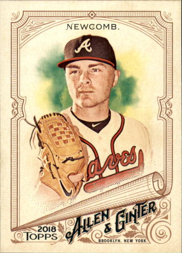 Photo of 2018 Topps Allen and Ginter #343 Sean Newcomb SP