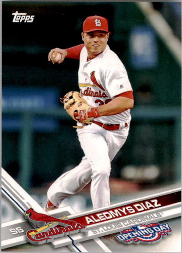 Photo of 2017 Topps Opening Day #39 Aledmys Diaz