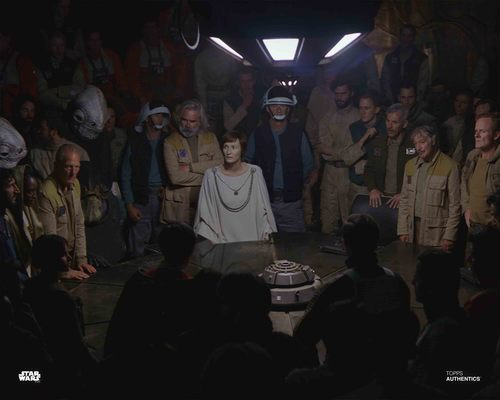 Mon Mothma and General Draven