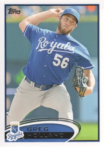 Photo of 2012 Topps #409 Greg Holland RC