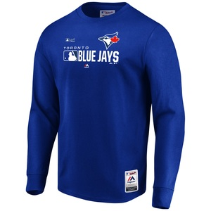 Toronto Blue Jays Authentic Collection Long Sleeve T-Shirt by Majestic