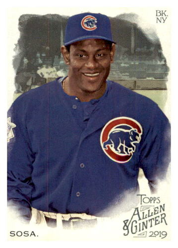 Photo of 2019 Topps Allen and Ginter #392 Sammy Sosa SP