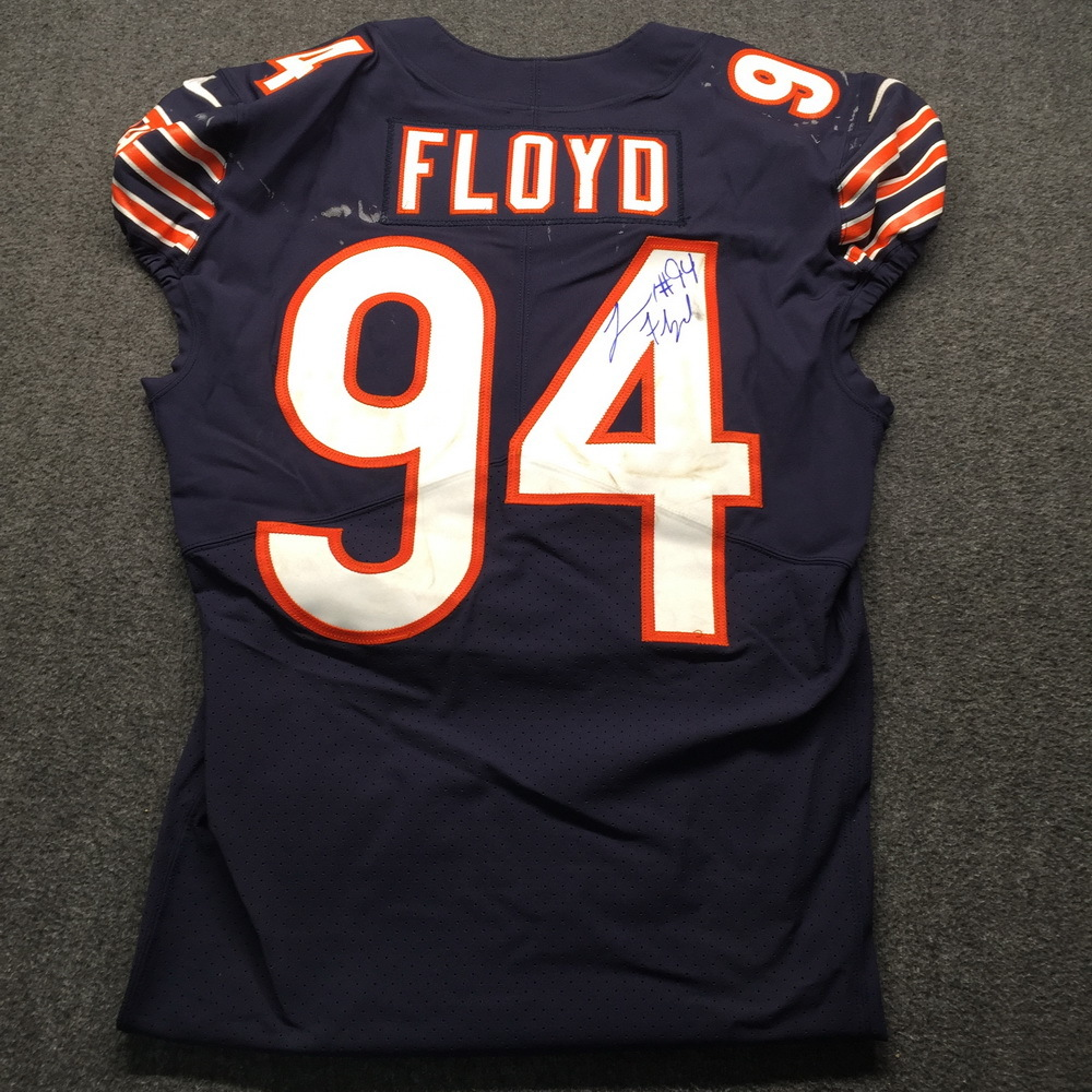STS - Bears Leonard Floyd Signed and Game Used Jersey (11/11/18)