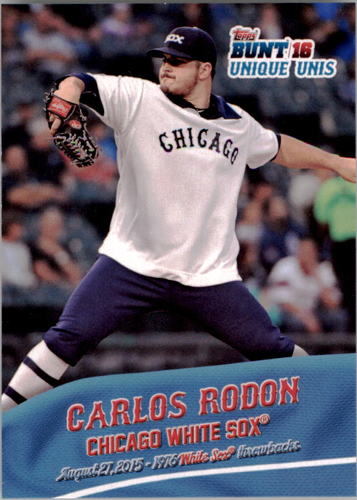 Photo of 2016 Topps Bunt Unique Unis #UU4 Carlos Rodon