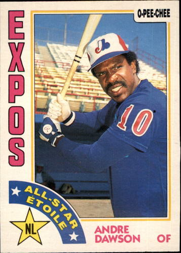 Photo of 1984 O-Pee-Chee #392 Andre Dawson AS