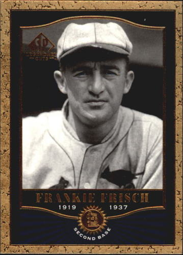 Photo of 2001 SP Legendary Cuts #13 Frankie Frisch