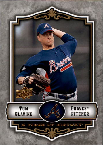Photo of 2009 UD A Piece of History #7 Tom Glavine