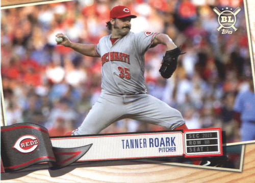 Photo of 2019 Topps Big League #272 Tanner Roark