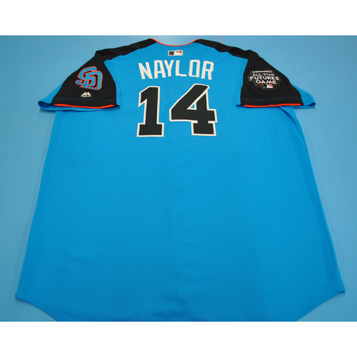 Photo of Game-Used Batting Practice Jersey - 2017 All-Star Futures Game - Josh Naylor - Size 52 - Only Worn During Batting Practice