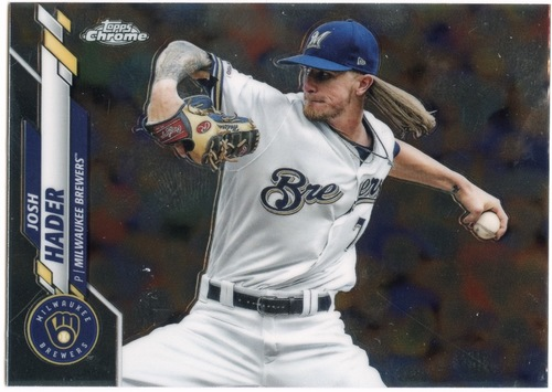 Photo of 2020 Topps Chrome #40 Josh Hader