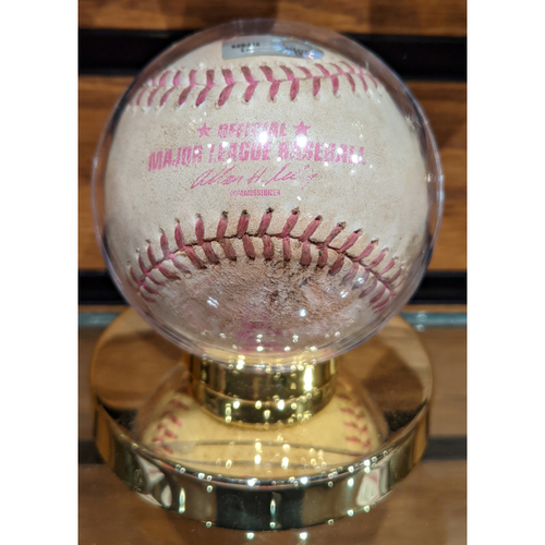 Photo of Red Sox vs. Blue Jays May 12, 2013 Game Used Mother's Day Baseball