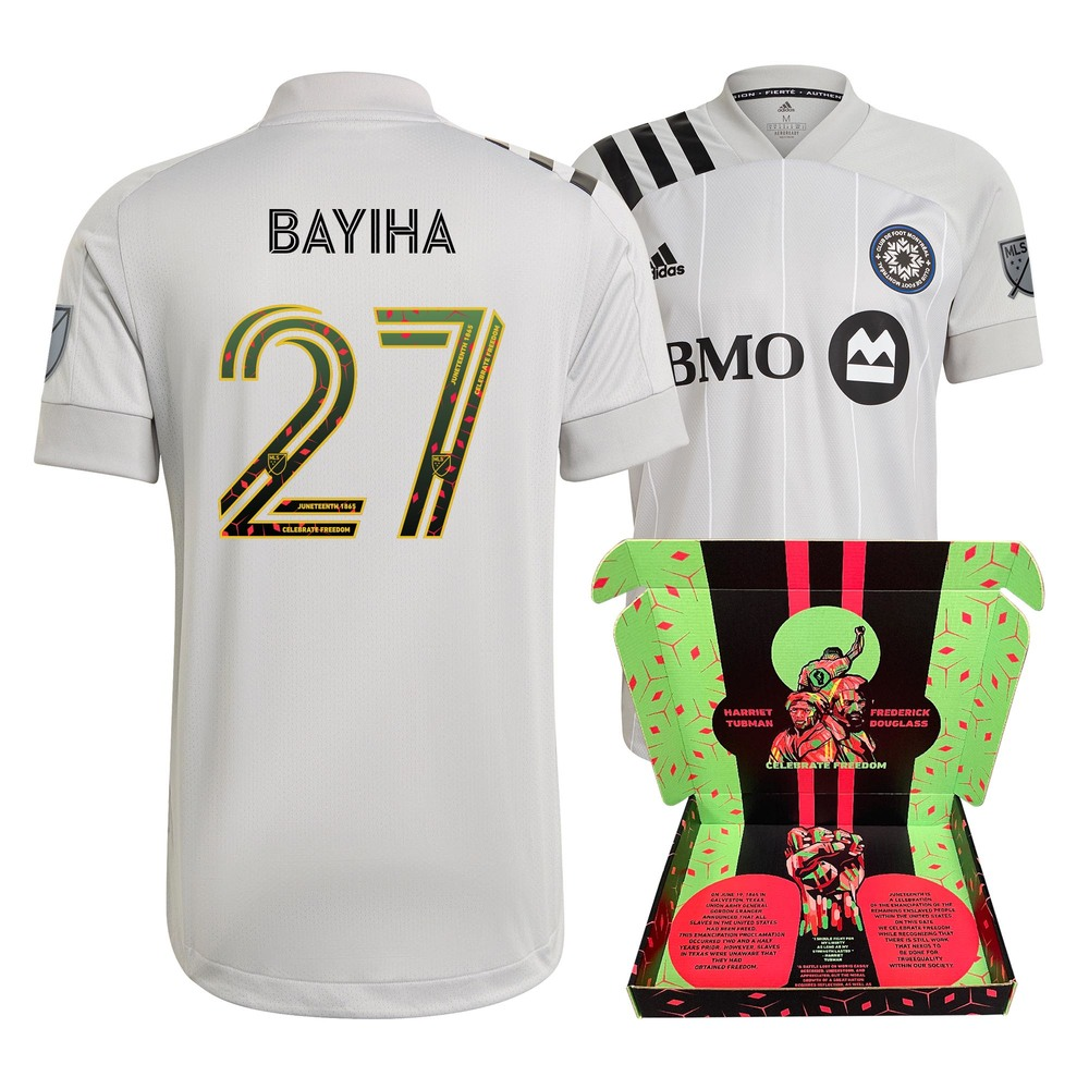 Clement Bayiha CF Montreal Player-Issued & Signed
