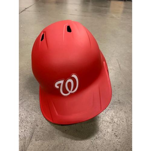 Photo of 2021 MLB Draft Used Helmet: Washington Nationals