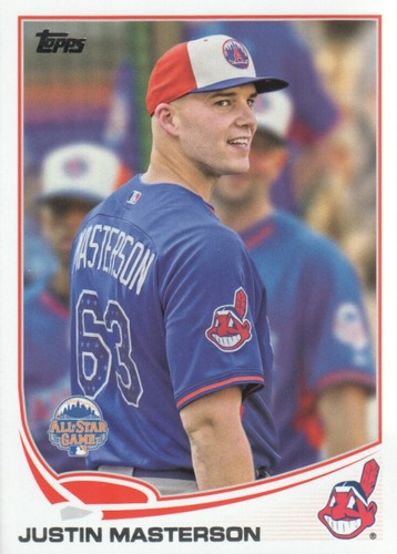 Photo of 2013 Topps Update #US239 Justin Masterson