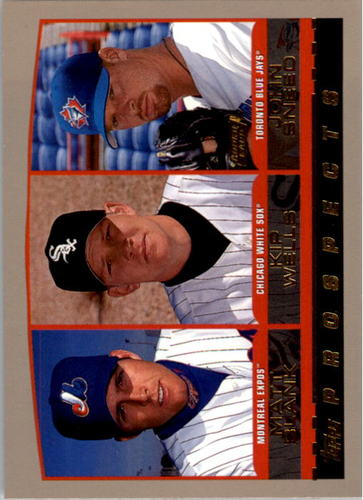 Photo of 2000 Topps #205 John Sneed RC/K.Wells