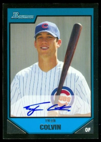 Photo of 2007 Bowman Prospects #BP113 Tyler Colvin AU