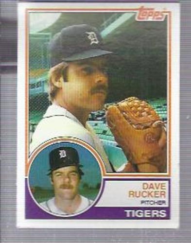 Photo of 1983 Topps #304 Dave Rucker
