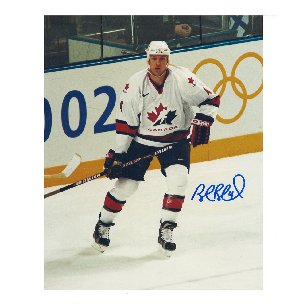 ROB BLAKE Signed Team Canada 8 X 10 Photo - 70185
