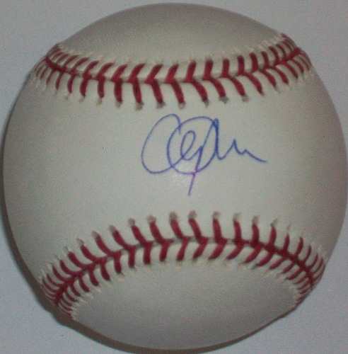 Cliff Lee Autographed Baseball