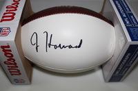 NFL - BEARS JORDAN HOWARD SIGNED PANEL BALL