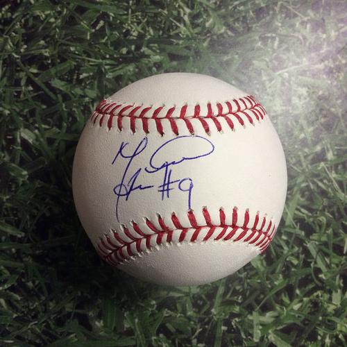 Manny Piña Autographed Baseball