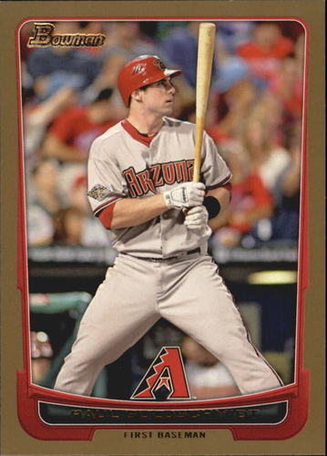 Photo of 2012 Bowman Gold #8 Paul Goldschmidt
